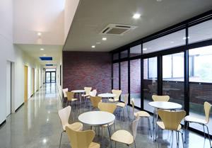 看護教育センター休憩コーナー